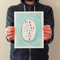 mothers day gift for mom typography print, mothers day art print, minimalist mint art, from daughter, son, dear mom, mom gift, hand lettered