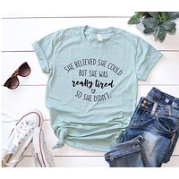 Believed She Could Graphic Tee
