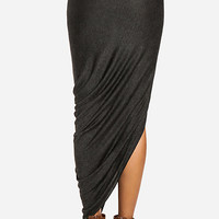 DailyLook: Twisted High Low Skirt