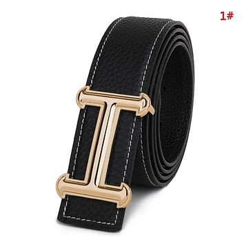 Hermes New Fashion H Buckle Women Men Personality Belt 1#