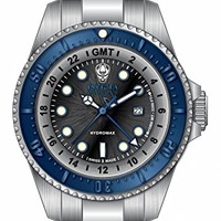 Invicta Reserve Black Dial Stainless Steel Mens Watch 16969