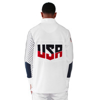 Entree Olympic Warm-Up Jacket In White