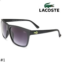LACOSTE 2018 trendy personality men and women fashion tide sunglasses F-ZXJ #1