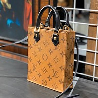 Hipgirls Louis Vuitton LV New Printed Letter Ladies Fashion Handbag Shoulder Bag