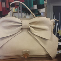 Carrying Your Love With Me Purse - Beige