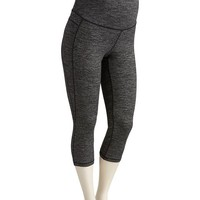 Old Navy Maternity Full Panel Compression Crops