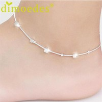 Women's Anklets Gold plated Bracelet For Ankle