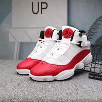 """Air Jordan 6 Rings"" Men Casual Fashion Multicolor Basketball Shoes Sneakers"