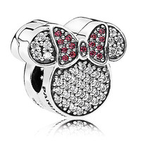 Minnie Mouse Ears Charm by PANDORA | Disney Store