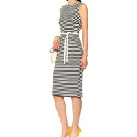 Comica striped midi dress