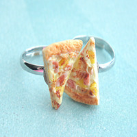 pizza friendship rings