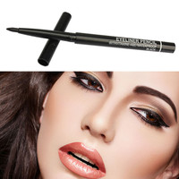 Professional Eye Shadow Eyeliner Pencil Easy colored and long lasting Women Makeup Eyeliner Pen Waterproof Automatic