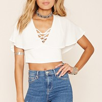 Strappy Open-Back Crop Top