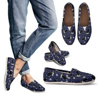 Space Border Collie Casual Shoes