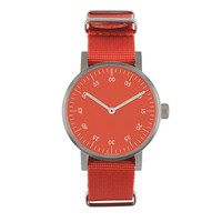 VOID Watches — Red V03B Analogue Watch NATO Strap
