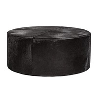 St. Francis Large Leather Ottoman