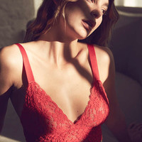 Out From Under Margeaux Lace Longline Bra | Urban Outfitters