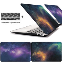 STAR laptop Case for MacBook Air 11 13 inch for APPLE MAC Pro with Retina 12 13.3 15 + keyboard cover