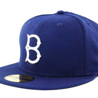 Brooklyn Dodgers MLB Cooperstown 59FIFTY Cap - Brooklyn Dodgers