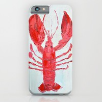 Coastal Lobster iPhone & iPod Case by Ann Marie Coolick
