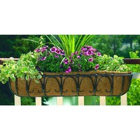 CobraCo Kingston Horse Trough 36 in. Metal Planter-HT102-BZ at The Home Depot
