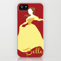 Belle from Beauty and the Beast Disney iPhone & iPod Case by Alice Wieckowska
