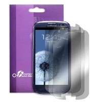 Amazon.com: Fosmon Crystal Clear Screen Protector Shield for the Samsung Galaxy S3 S III i9300 - 3 Pack: Cell Phones & Accessories