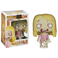 Funko POP! The Walking Dead - Vinyl Figure - TEDDY BEAR GIRL: BBToyStore.com - Toys, Plush, Trading Cards, Action Figures & Games online retail store shop sale