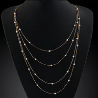 Multi Layer Classic Necklace