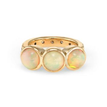 Opal Wexler Ring - Yellow Gold
