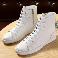 Louis Vuitton  Women Fashion Simple Casual  Sneakers Sport  Boots Shoes