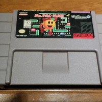 Ms. Pac Man - super Nintendo snes system console game FREE SHIPPING
