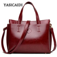 Women Patent Leather Large Capacity Smart Office Bag