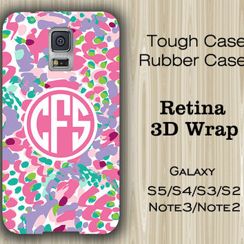 Vibrant Arts Light Color Monogram Samsung Galaxy S5/S4/S3/Note 3/Note 2 Case