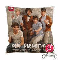 One Direction Everything about You Cushion Case / Pillow Case
