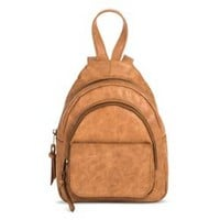 Women's Double Compartment Mini Backpack - Mossimo Supply Co.™ Cognac