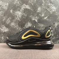 Nike Air Max 720 Black Gold Running Shoes - Best Deal Online
