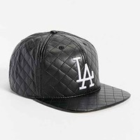 American Needle Quilted L.A. Dodgers Hat- Black One
