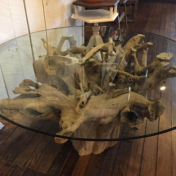 Driftwood Tree Root Coffee Table