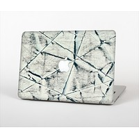 """The White Cracked Woven Texture Skin Set for the Apple MacBook Air 11"""""""