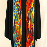 """ClergyStole Everglades #59, Pastor Stole, Minister Stole, 54"""" Length, Pastor Gift, Vestments, Preaching Stole"""