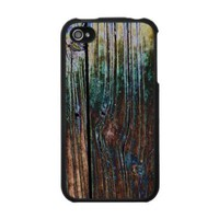 Abstract Woodgrain - Speck Fitted? Hard Shell Cas Iphone 4 Cases from Zazzle.com