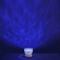 Ohuhu Ocean Wave Night Light Projector and Music Player