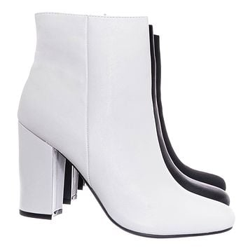 Awake01 Classic Block Heel Bootie - Womens Chunky Ankle Dress Boots