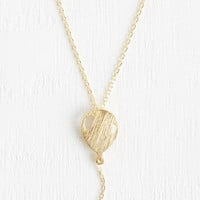 Quirky What's Up? Necklace by ModCloth