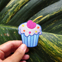 Cup Cake/Iron on Patch/Kids/Sweet