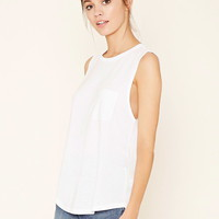 Pocket-Front Muscle Tee