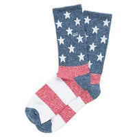 American Flag Crew Sock 1 Pack | Shop At Vans