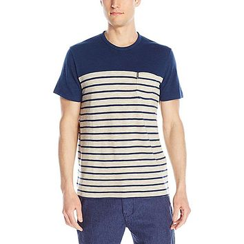 Ben Sherman - Slub Breton Mens Striped T Shirt