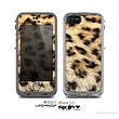 The Real Cheetah Animal Print Skin for the Apple iPhone 5c LifeProof Case